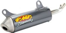 New Yamha 80 85 93-18 FMF Titanium2 Silencer Exhaust Pipe Titanium Shorty 024020